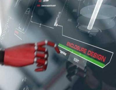 AGENTUR FÜR 3D Animation – Case Bernstein AG 3D-Visualisierung eines arbeitenden Roboters